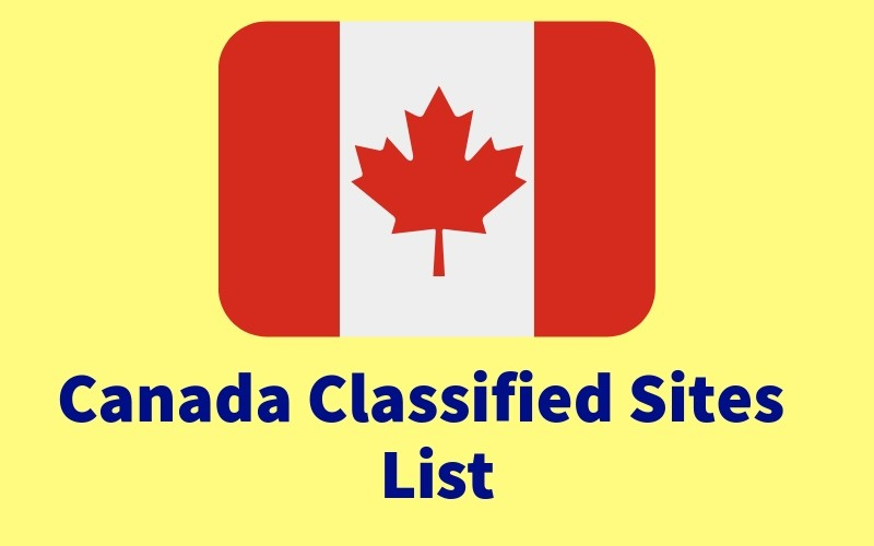 Top Free Canada Classified Sites [New Updated]