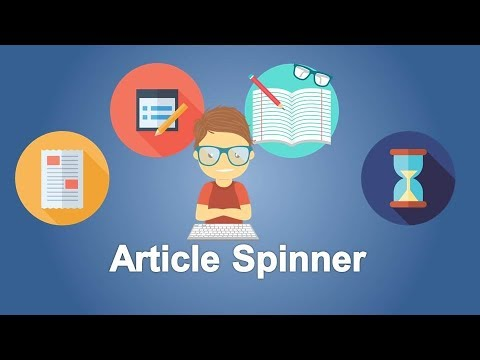 Free Article Spinner Websites 2019